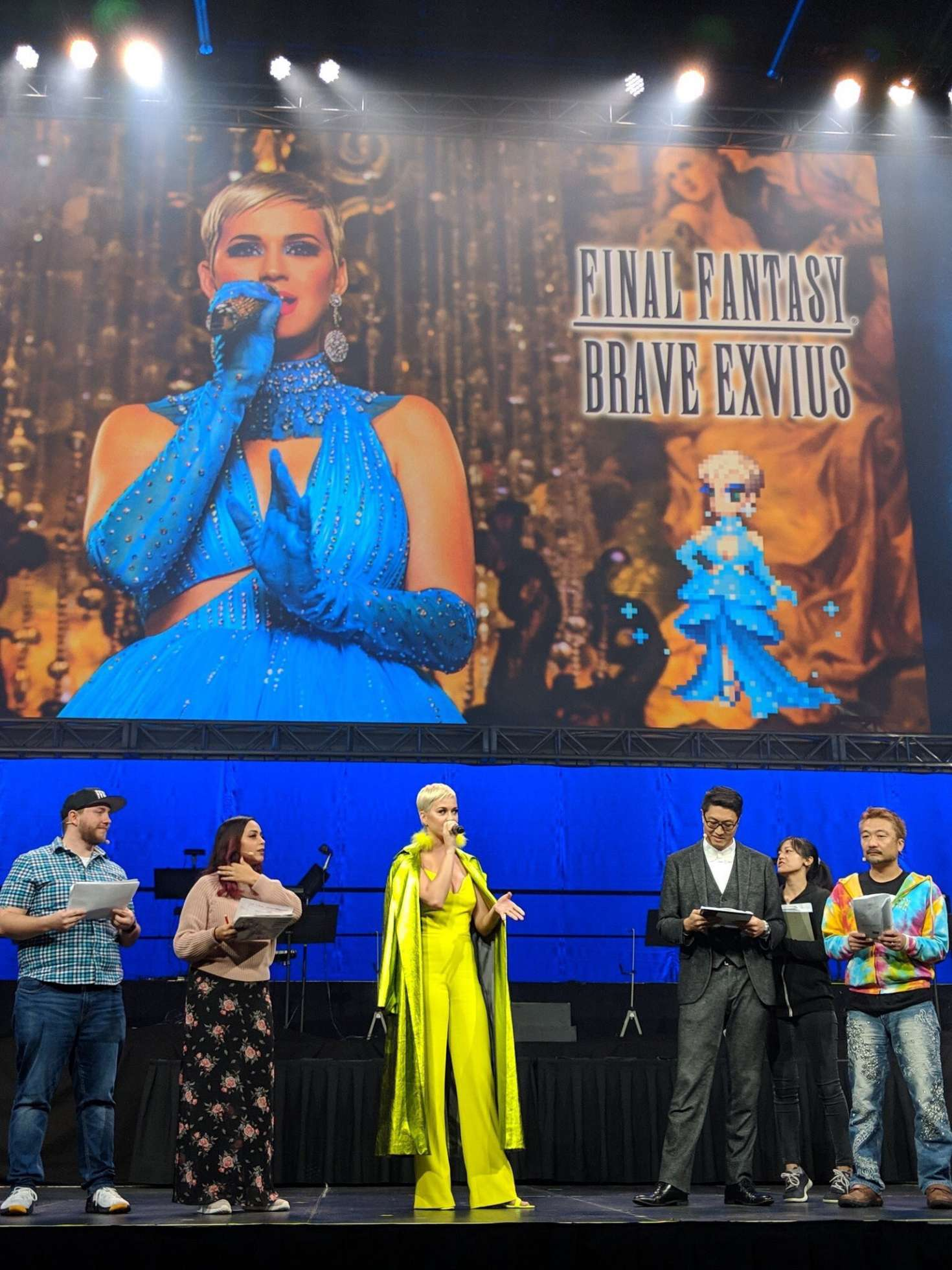 Katy Perry 2018 : Katy Perry at FFBE Fan Festa 2018 -01
