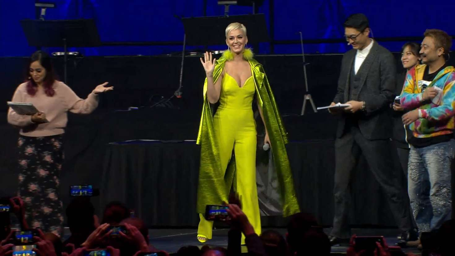 Katy Perry 2018 : Katy Perry at FFBE Fan Festa 2018 -03