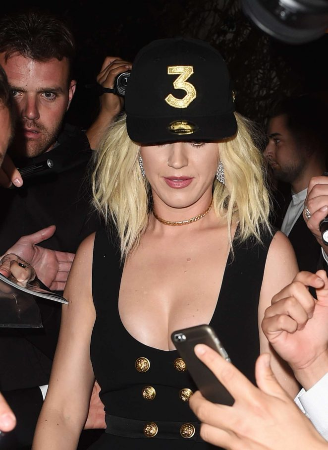 Katy Perry at Grammy After Party at Chateau Marmont -01