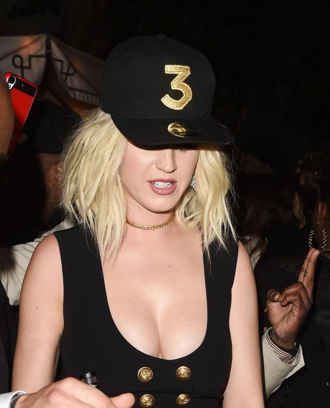 Katy Perry at Grammy After Party at Chateau Marmont -02
