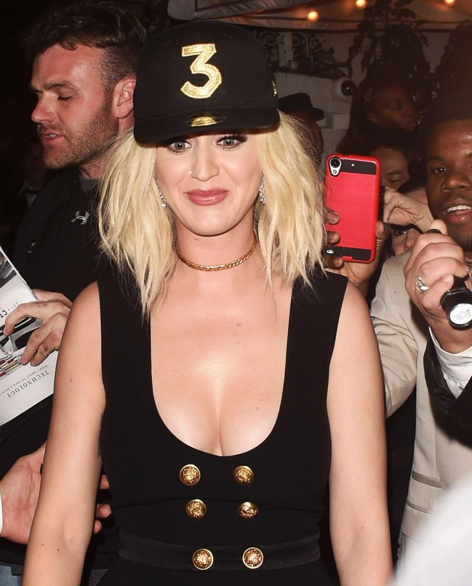 Katy Perry at Grammy After Party at Chateau Marmont in LA