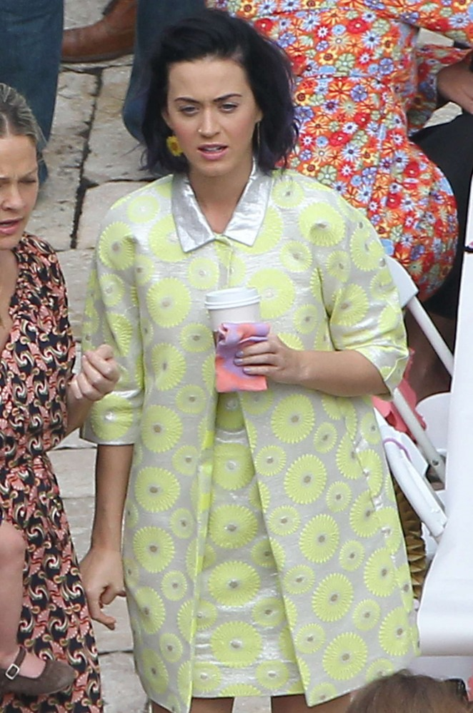 Katy Perry at Private Party -23
