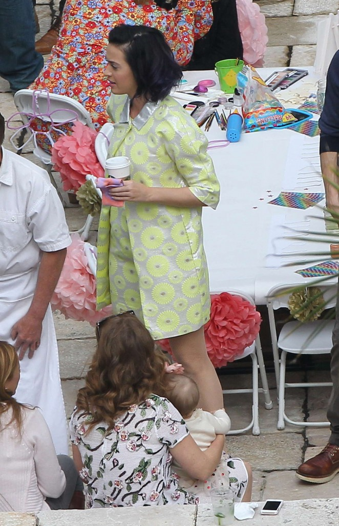 Katy Perry at Private Party -26