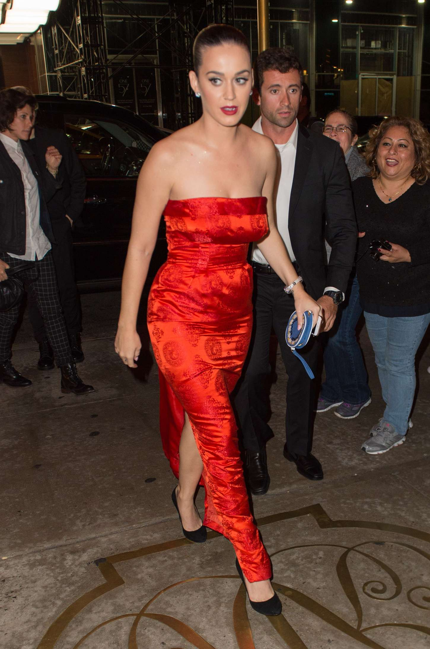 Katy Perry at The Russian Tea Room GotCeleb
