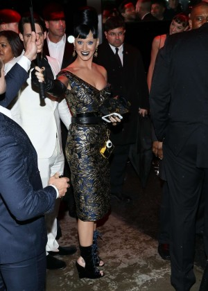Katy Perry at The Standard High Line in New York