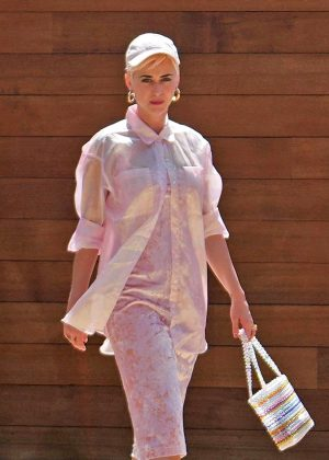 Katy Perry - Attending church service in LA