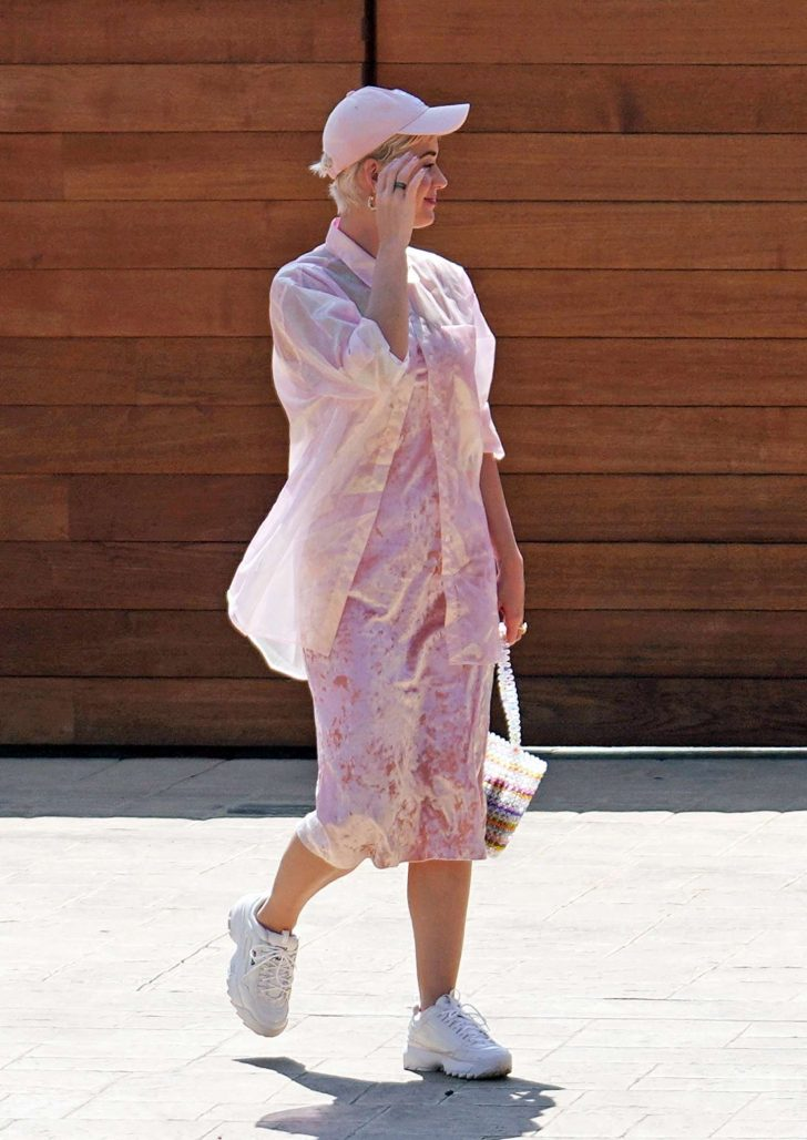 Katy Perry 2019 : Katy Perry: Attending church service -04