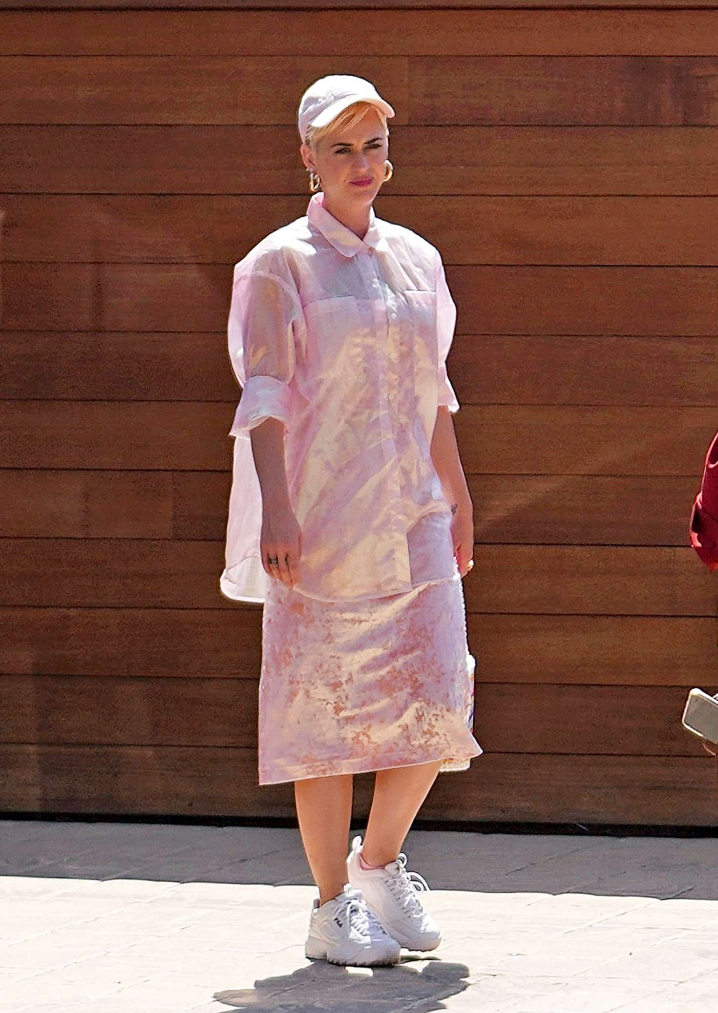Katy Perry: Attending church service -09