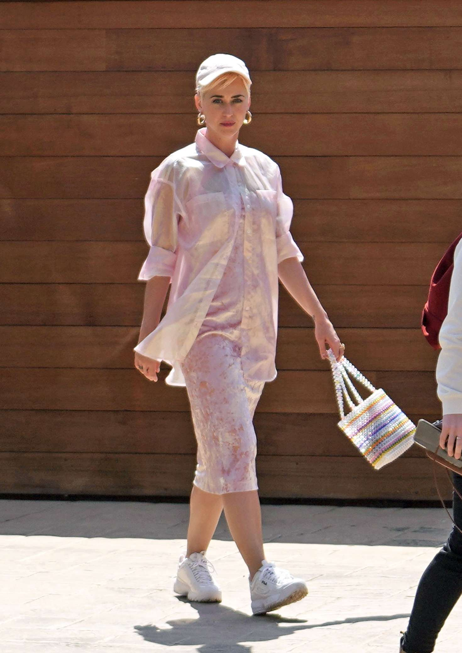 Katy Perry 2019 : Katy Perry: Attending church service -10