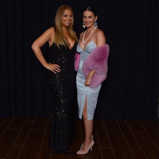 Katy Perry - Attending Mariah Carey Concert in Las Vegas