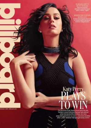 Katy Perry - Billboard Cover Magazine (February 2015)