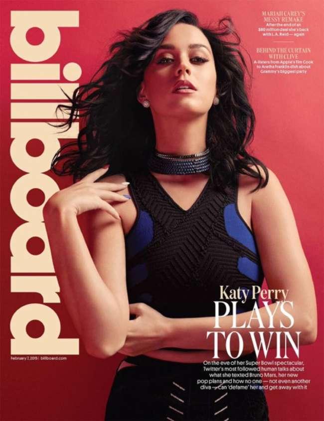 Katy Perry - Billboard Cover Magazine (February 2015)