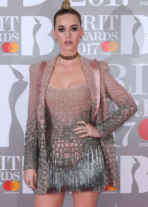 Katy Perry - BRIT Awards 2017 in London