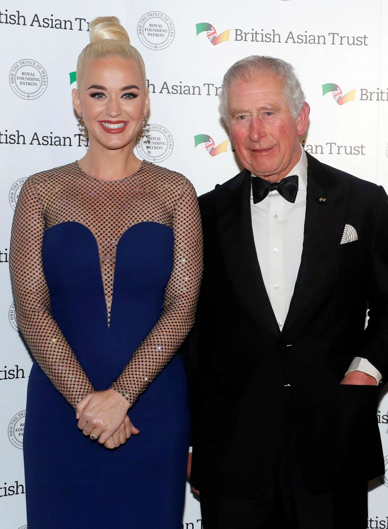 Katy Perry - British Asian Trust Reception in London