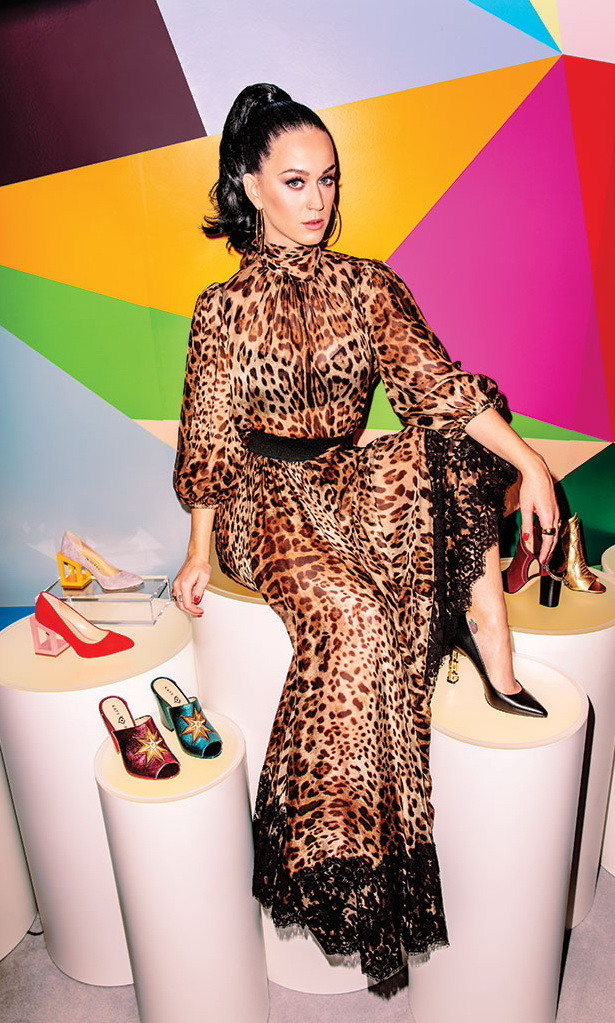 Katy Perry by Rony Alwin Photoshoot for Footwear News 2017