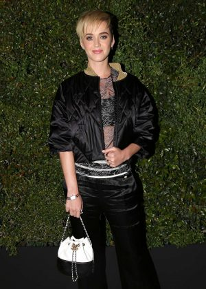 Katy Perry - Chanel Dinner hosted by Pharrell Williams in Los Angeles