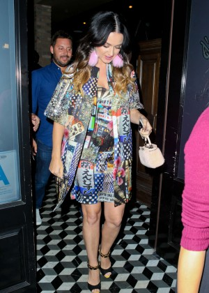 Katy Perry - Craig's Restaurant in West Hollywood