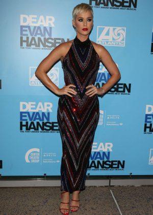 Katy Perry - 'Dear Evan Hansen' Center Theatre Group Ahmanson Theatre Opening in LA
