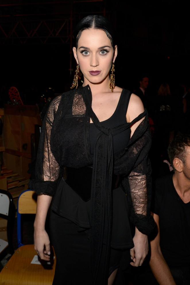 Katy Perry -  Givenchy Fashion Show 2015 in Paris