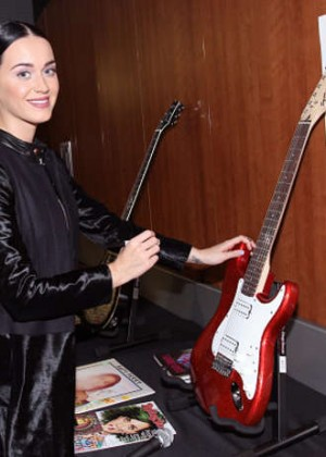 Katy Perry - Grammy Charity Signing in Los Angeles