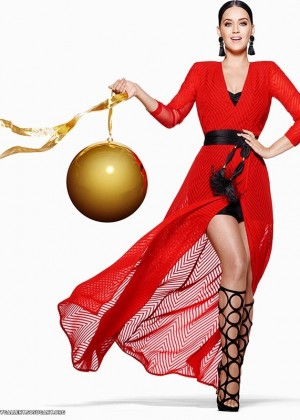 Katy Perry - H&M Holiday Campaign Shoot 2015