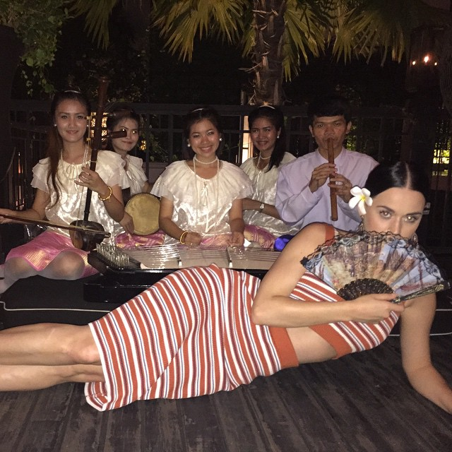 Katy Perry - Having Fun in Bangkok