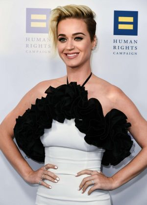 Katy Perry - Human Rights Campaign Gala Dinner 2017 in Los ...