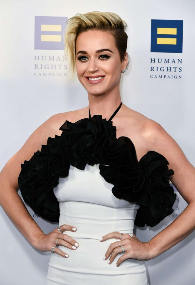 Katy Perry - Human Rights Campaign Gala Dinner 2017 in Los Angeles