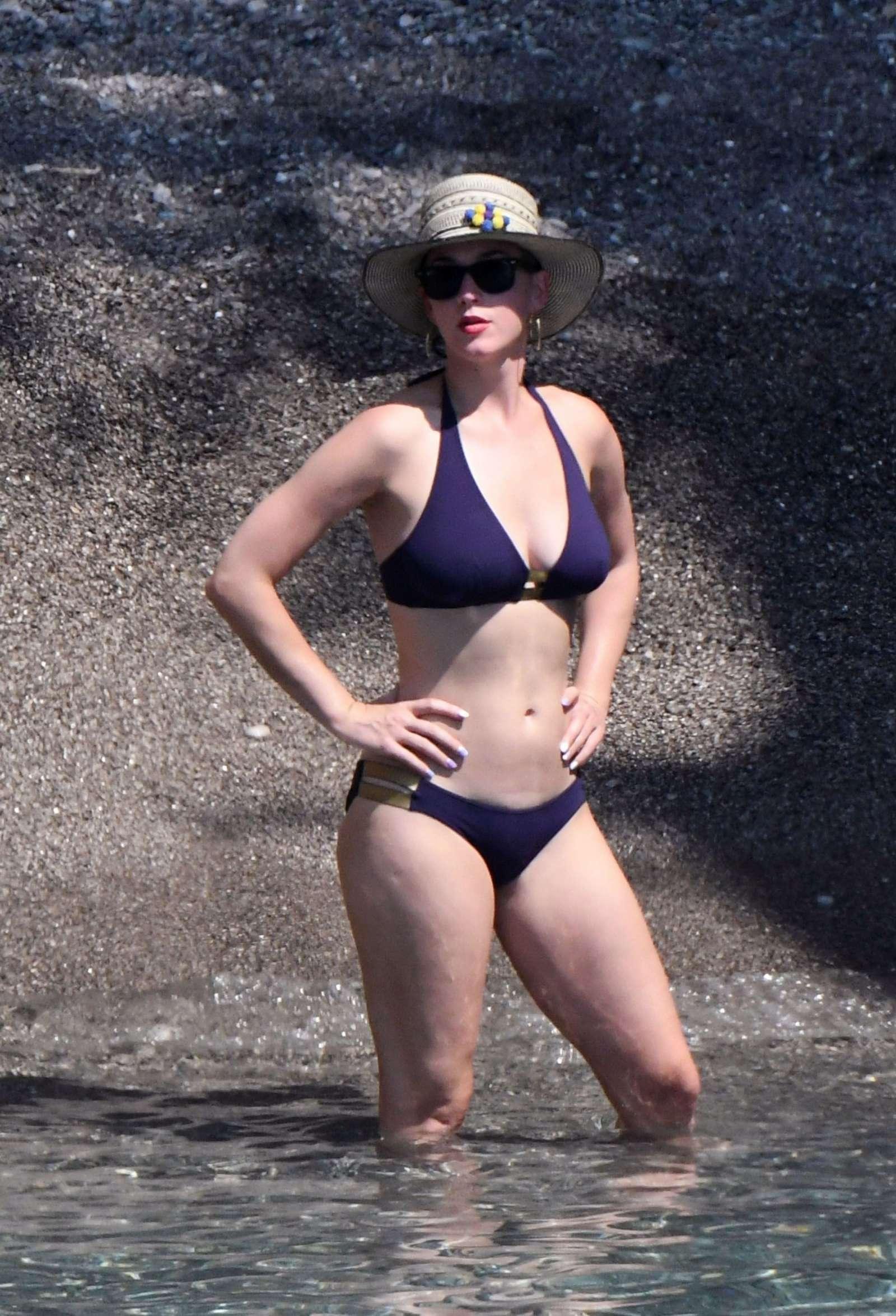 charity Katy bikini