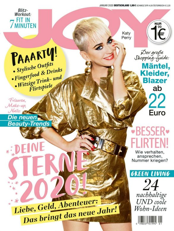 Katy Perry - JOY Germany Magazine (January 2020)