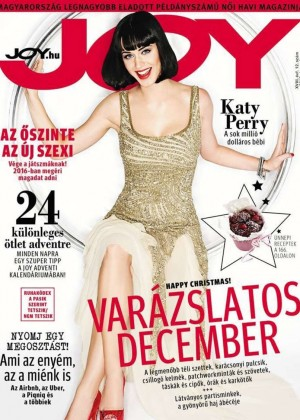 Katy Perry - Joy Hungary Magazine Cover (December 2015)