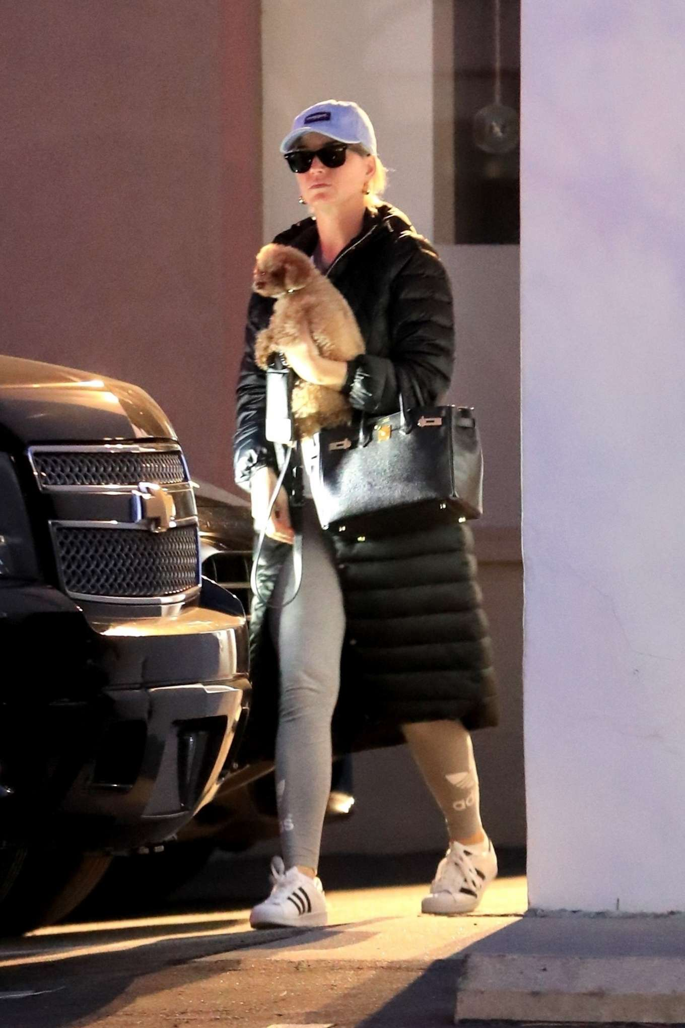 Katy Perry - Leaves her office in West Hollywood