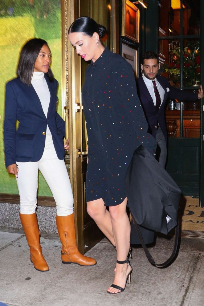 Katy Perry – Leaving Polo Bar in NYC