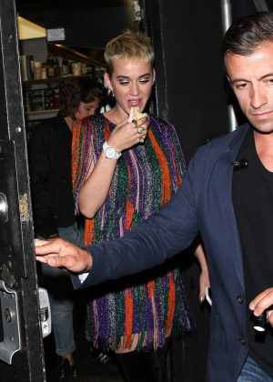Katy Perry - Leaving The Pepermint Night Club in Los Angeles