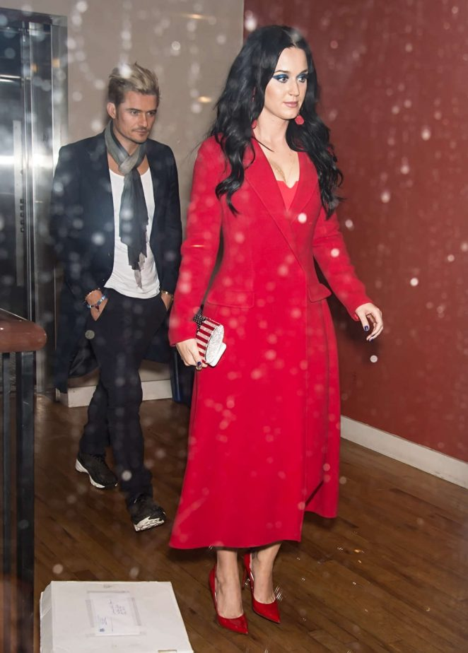 Katy Perry – Leaving Vedge Restaurant in Philadelphia