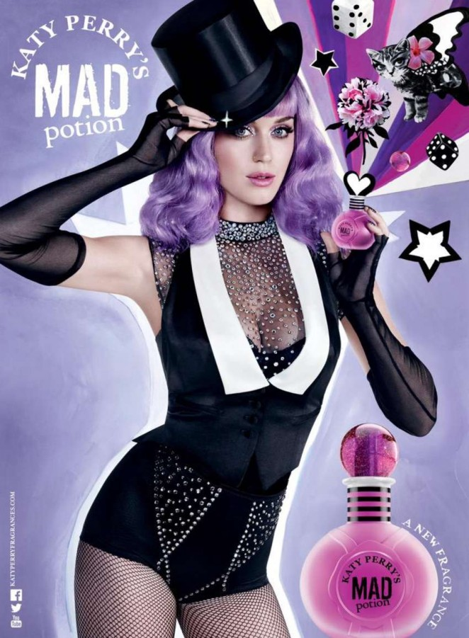 Katy Perry - Mad Potion Fragrance ad