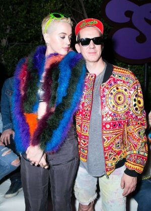 Katy Perry - Moschino Candy Crush Desert Party in Corona Yacht Club at Coachella