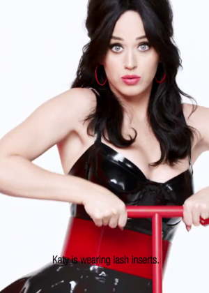 Katy Perry – New Covergirl Commercial