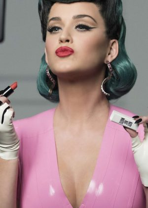 Katy Perry - New Covergirl Katy Kat Collection Campaign 2016