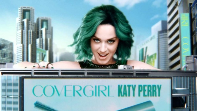 Katy Perry: New Super Sizer Mascara Covergirl Commercial 2015 -02