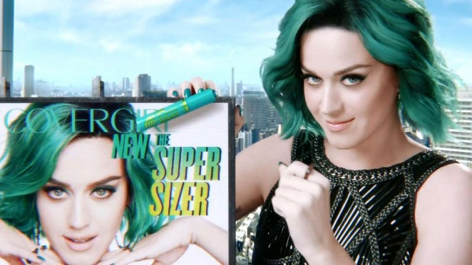 Katy Perry: New Super Sizer Mascara Covergirl Commercial 2015 -03