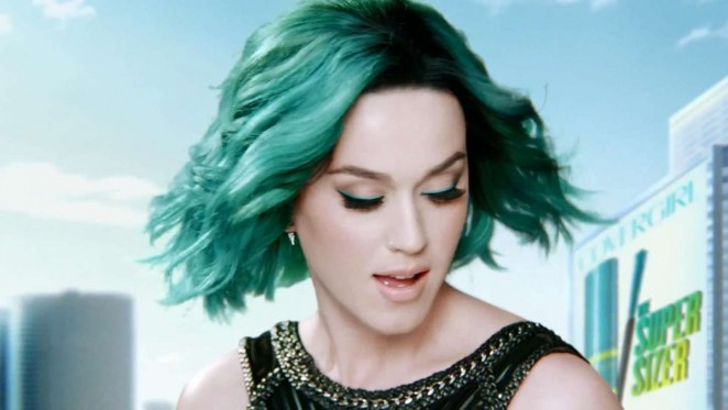 Katy Perry: New Super Sizer Mascara Covergirl Commercial 2015 -06