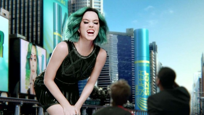 Katy Perry - New Super Sizer Mascara Covergirl Commercial 2015