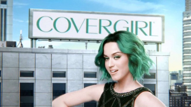 Katy Perry: New Super Sizer Mascara Covergirl Commercial