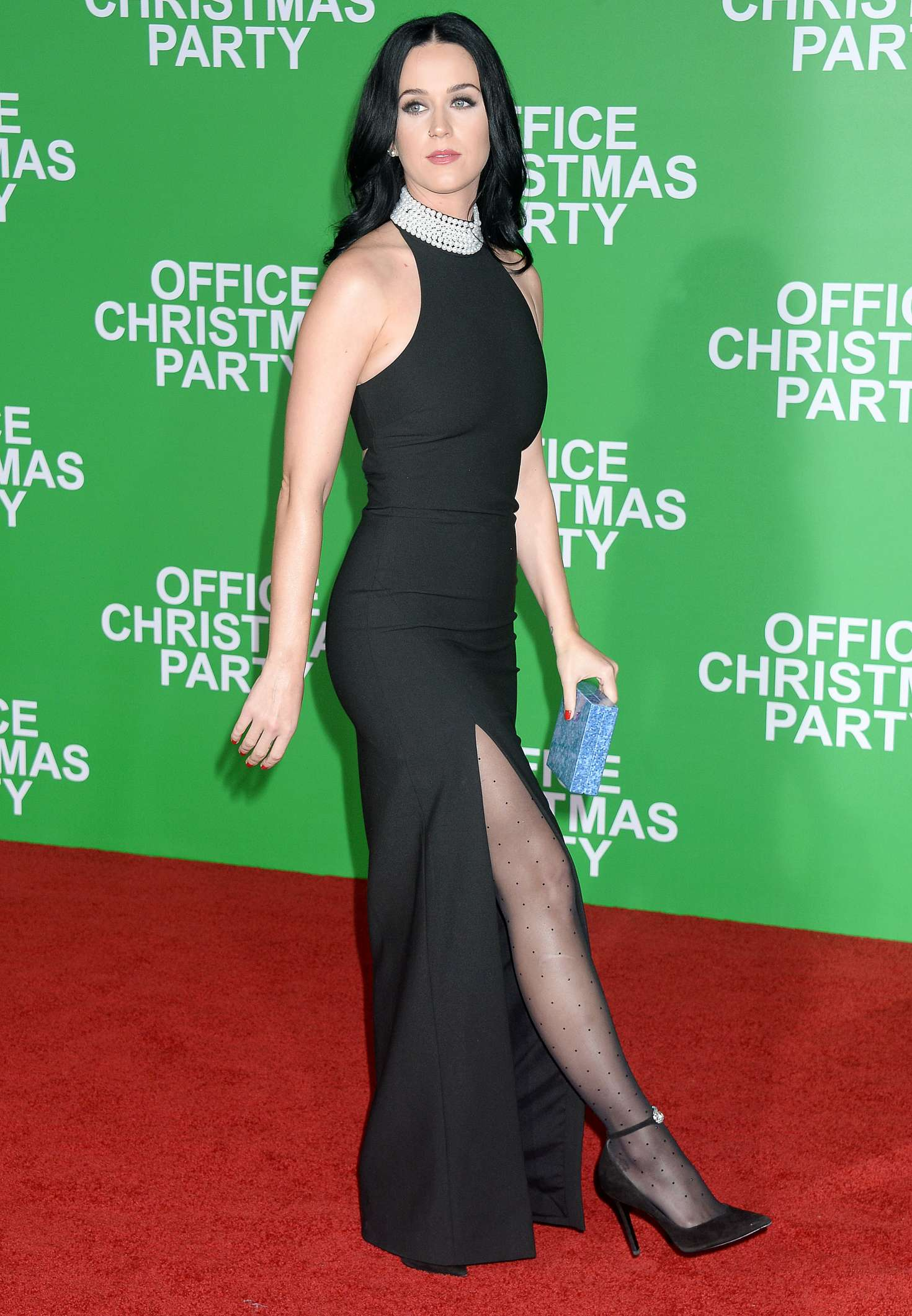Katy Perry: Office Christmas Party LA Premiere -09 – GotCeleb