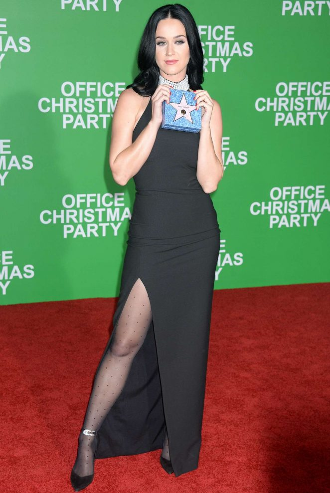 Katy Perry: Office Christmas Party LA Premiere -13 – GotCeleb