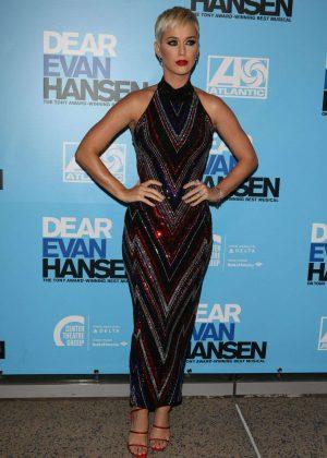 Katy Perry - Opening Night Performance of Dear Evan Hansen at Ahmanson Theatre