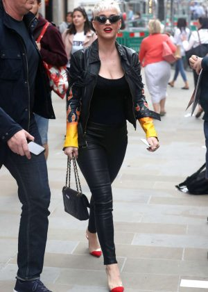 Katy Perry - Out and about in London