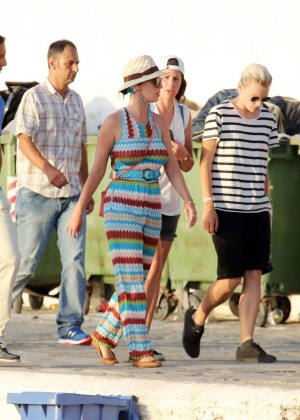 Katy Perry - Out and about in Mykonos