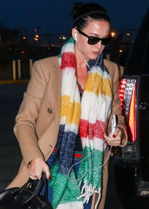 Katy Perry out in New York